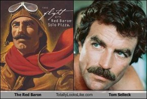 The Red Baron Totally Looks Like Tom Selleck