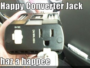 Happy Converter Jack  haz a happee