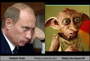Vladimir Putin Totally Looks Like Dobby the House Elf