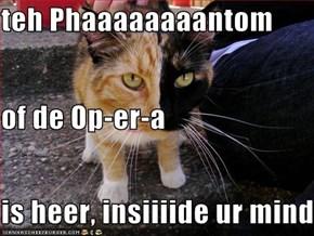 teh Phaaaaaaaantom  of de Op-er-a is heer, insiiiide ur mind
