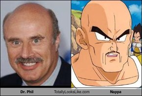 Dr. Phil Totally Looks Like Nappa