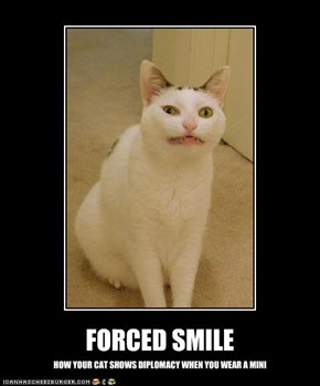 FORCED SMILE