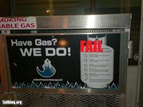 Gas Fail