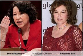 Sonia Sotomayor Totally Looks Like Roseanne Barr