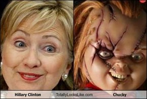 Hillary Clinton Totally Looks Like Chucky