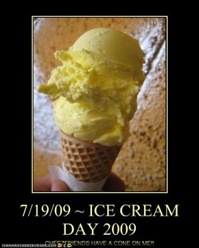 7/19/09 ~ ICE CREAM DAY 2009