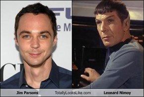 Jim Parsons Totally Looks Like Leonard Nimoy
