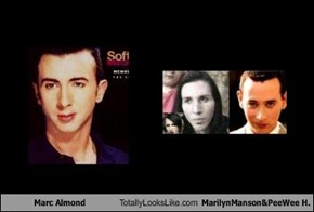 Marc Almond Totally Looks Like MarilynManson&PeeWee H.