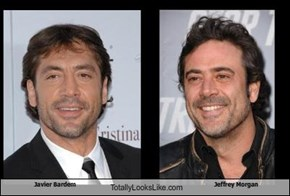 Javier Bardem  Totally Looks Like Jeffrey Morgan
