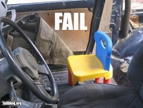 Passenger Seat Fail