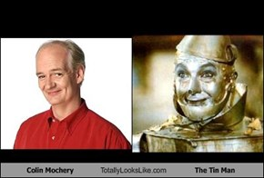 Colin Mochery Totally Looks Like The Tin Man