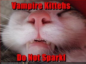 Vampire Kittehs  Do Not Sparkl
