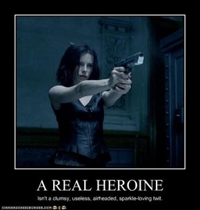 A REAL HEROINE