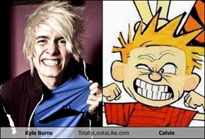 Kyle Burns Totally Looks Like Calvin