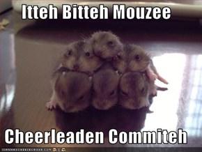 Itteh Bitteh Mouzee  Cheerleaden Commiteh