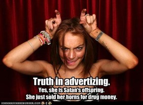 Truth in advertizing.