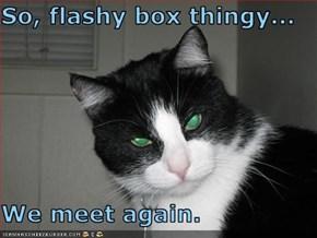 So, flashy box thingy...  We meet again.