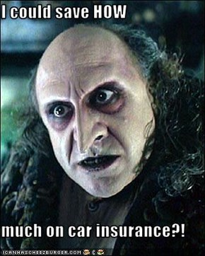 I could save HOW  much on car insurance?!