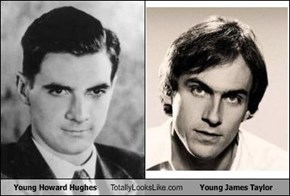 Young Howard Hughes Totally Looks Like Young James Taylor