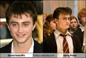 Daniel Radcliffe Totally Looks Like Harry Potter