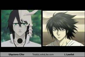 Ulquiorra Cifer Totally Looks Like L Lawliet