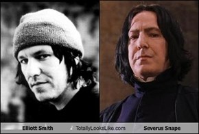 Elliott Smith Totally Looks Like Severus Snape