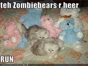teh Zombiebears r heer  RUN
