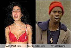 Amy Winehouse Totally Looks Like Tyrone Biggums