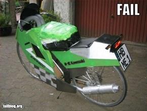 Kawasaki Fail