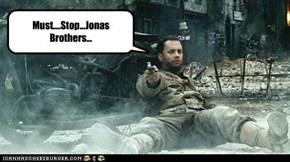 Must....Stop...Jonas Brothers...