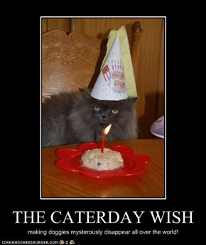 THE CATERDAY WISH