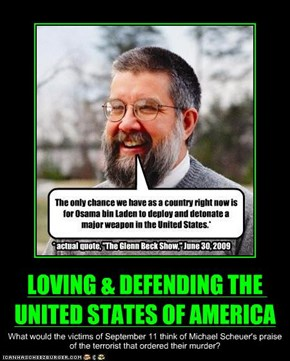 LOVING & DEFENDING THE UNITED STATES OF AMERICA