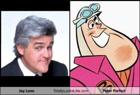 Jay Leno Totally Looks Like Peter Perfect