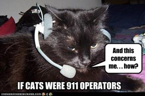 IF CATS WERE 911 OPERATORS