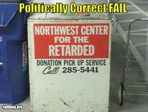 Political Correctness Fail