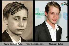 Young Vladamir Putin Totally Looks Like Macaulay Culkin
