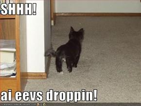 SHHH!  ai eevs droppin!