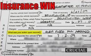 Car insurance fail