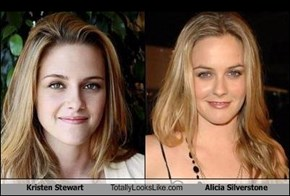 Kristen Stewart Totally Looks Like Alicia Silverstone
