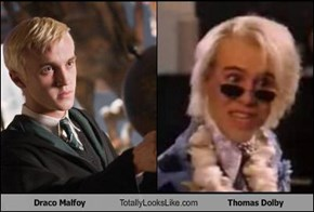 Draco Malfoy Totally Looks Like Thomas Dolby