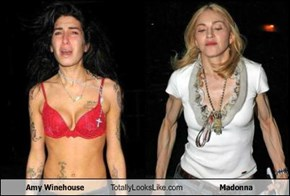 Amy Winehouse Totally Looks Like Madonna