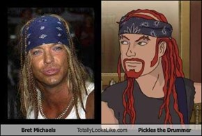 Bret Michaels Totally Looks Like Pickles the Drummer