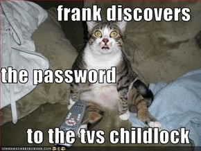 frank discovers the password to the tvs childlock