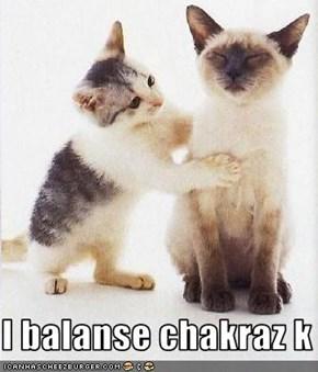 I balanse chakraz k