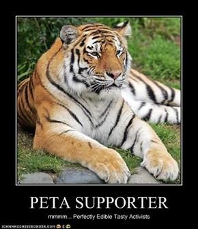 PETA SUPPORTER
