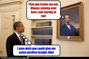 I sure wish you could give me some positive insight, Abe!