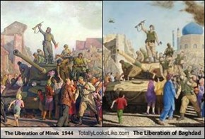 The Liberation of Minsk  1944 Totally Looks Like The Liberation of Baghdad