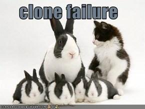 clone failure