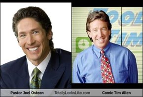 Pastor Joel Osteen Totally Looks Like Comic Tim Allen