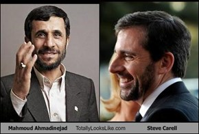 Mahmoud Ahmadinejad Totally Looks Like Steve Carell